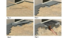 Doorway Drainage Installation Instruction