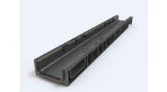 Plastic water drainage channels. Ecoteck STANDART 100 Series